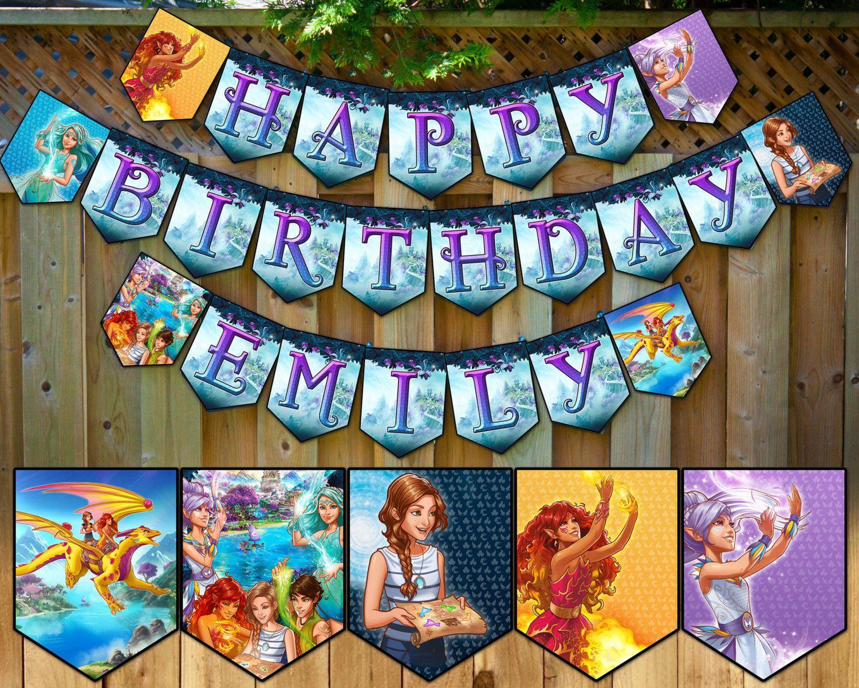 Lego Elves Inspired Birthday Banner Lego Elves Birthday Banner Lego Elves Happy Birthday Bunting Lego Elves Garland Elves Birthday Party…