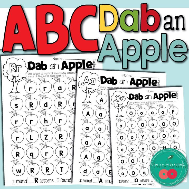 Dot a Letter | Abc worksheets, Worksheets and Apple activities
