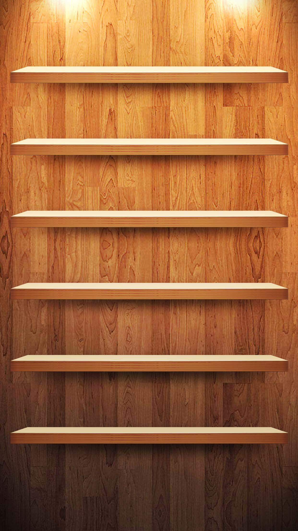 TAP AND GET THE FREE APP! Shelves Wooden Boards Brown