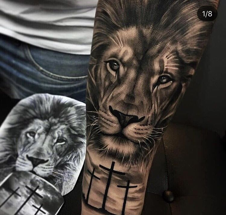 Lion #tattoo -   24 religious tattoo sleeve ideas