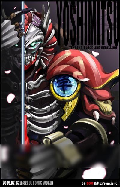 tekken 7 yoshimitsu fan art