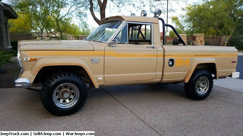 Jeep Trucks For Sale And Jeep Truck Parts 1978 Jeep J10 10 4
