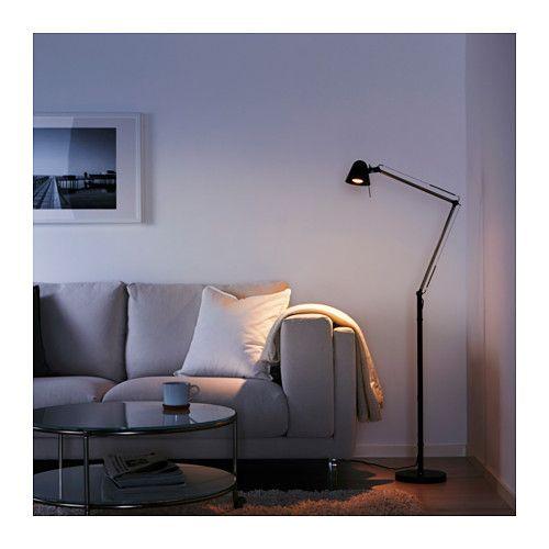 uppbo stand leseleuchte ikea interior design. Black Bedroom Furniture Sets. Home Design Ideas