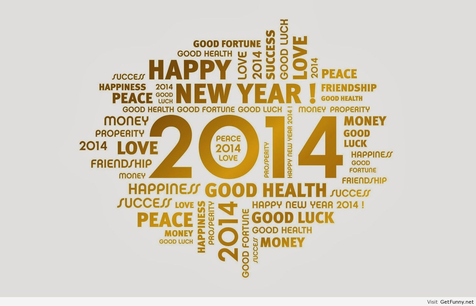 Happy New Year Txt Message Sms 2014