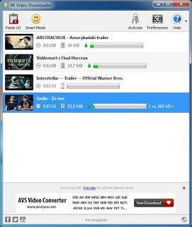 4K Video Downloader 4K Video Downloader allows to download