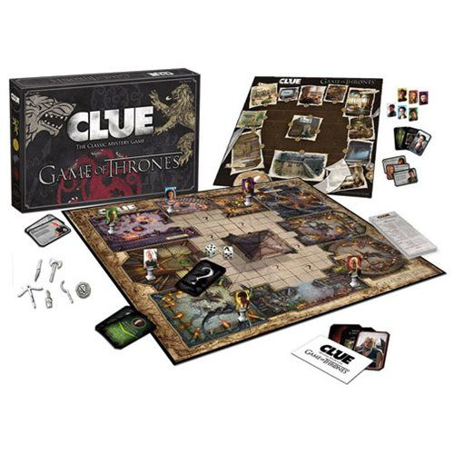 Game Of Thrones Clue With Images Clue Games Game Of Thrones