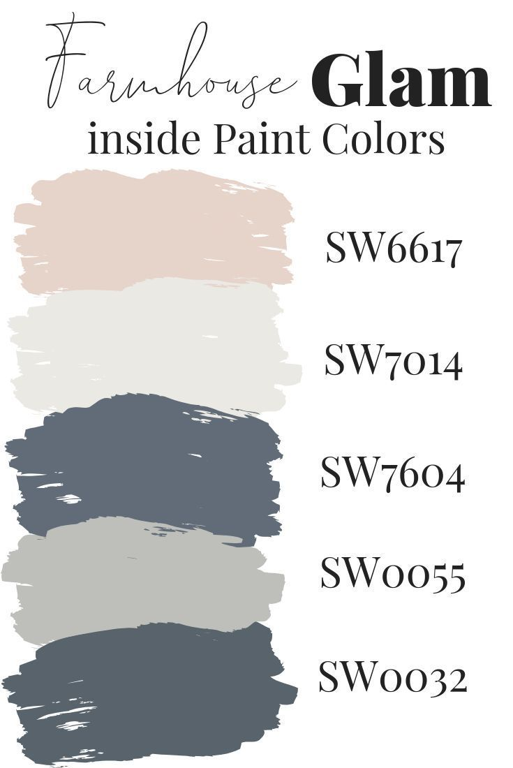 Info's : Farmhouse Glam Interior Paint Colors by Jennifer Allwood who is known for her Comfy Glam Lived in Luxe Decor Style | Paint Color Ideas | Paint Colors for Living Room | Paint Colors for Home | Decorating Colors | Interior Paint Ideas | Room Colors | Best Paint Color Ideas | Wall Painting Ideas for Home | Wall Colors #homedecor #painting #diy #diyhomedecor #paintcolors