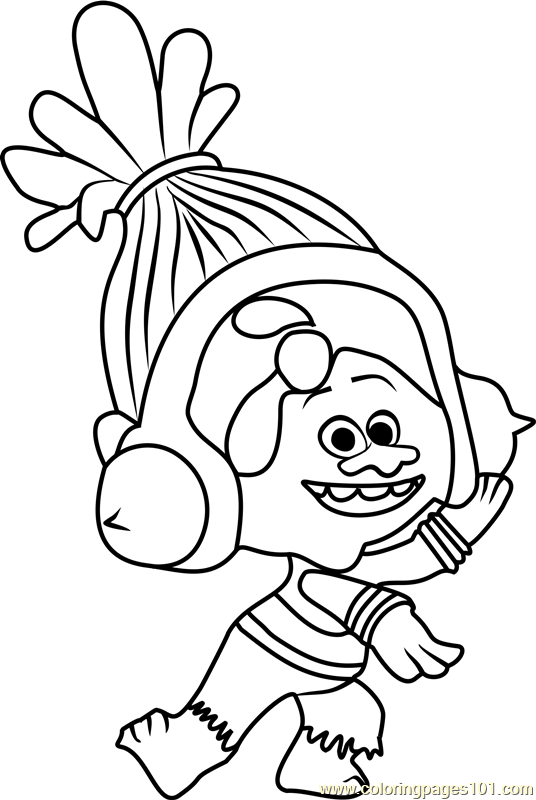 billedresultat for troll coloring pages - Coloring Page Trolls