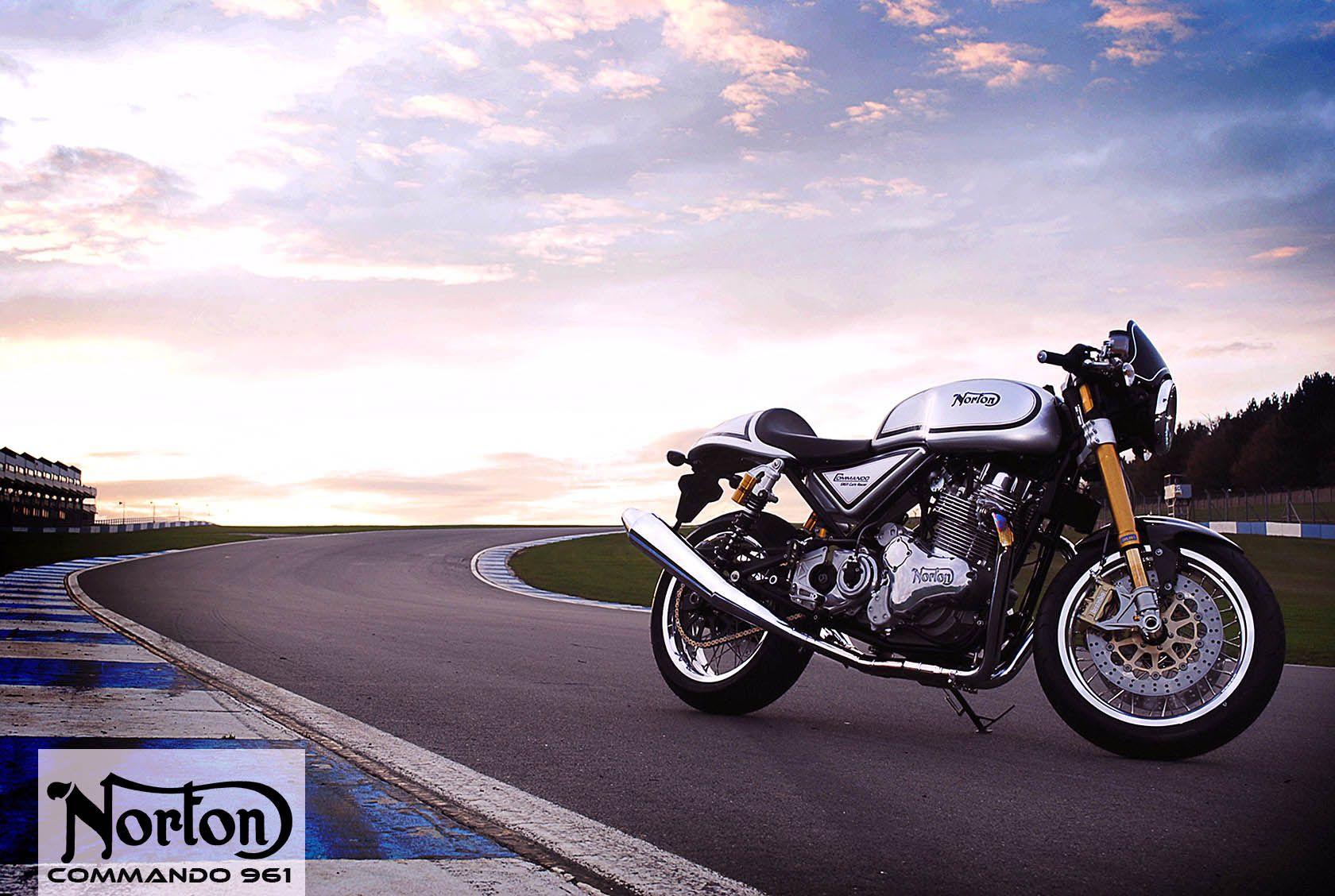 Norton Commando 961 Cafe Racer HD Wallpaper