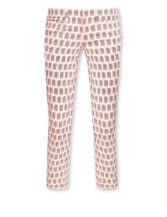 TORY BURCH Landry Flat Front Cropped Skinny Jean