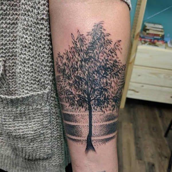 Tatuaż Drzewo Znaczenie Historia 50 Zdjęć Pomysł Na