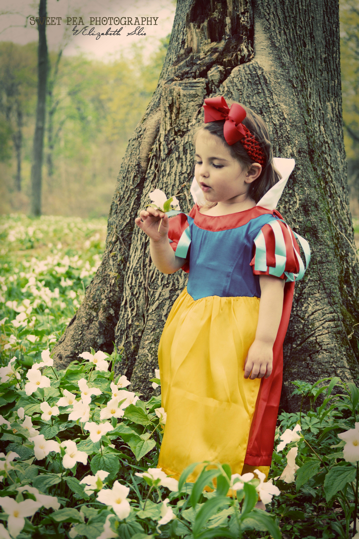 Snow White Fairy Tale Photo Shoot Toddler Girl Photo Shoot Ideas
