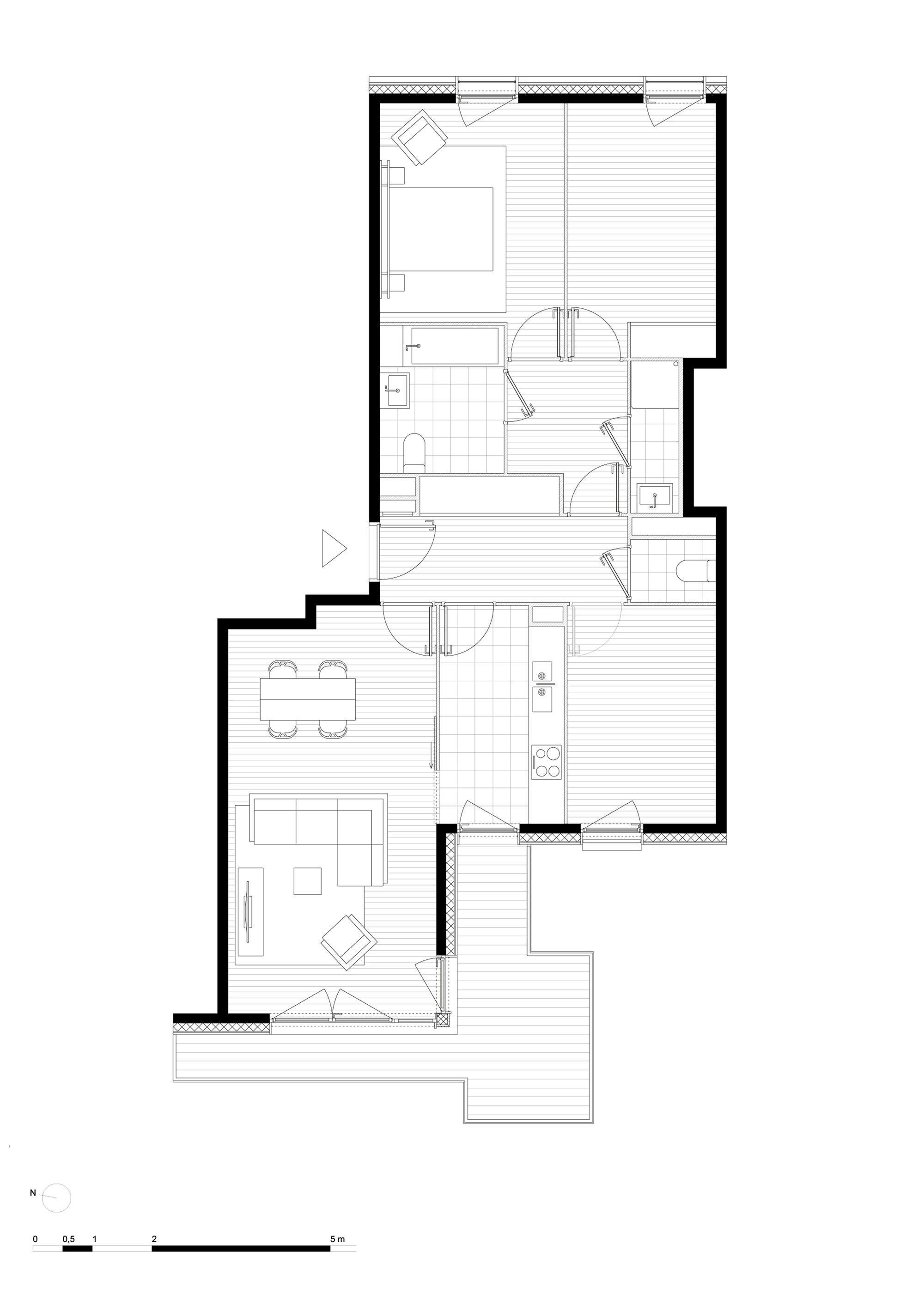 Gallery Of Valenton Housing Gelin Lafon 25 Architecture Floor Plans How To Plan
