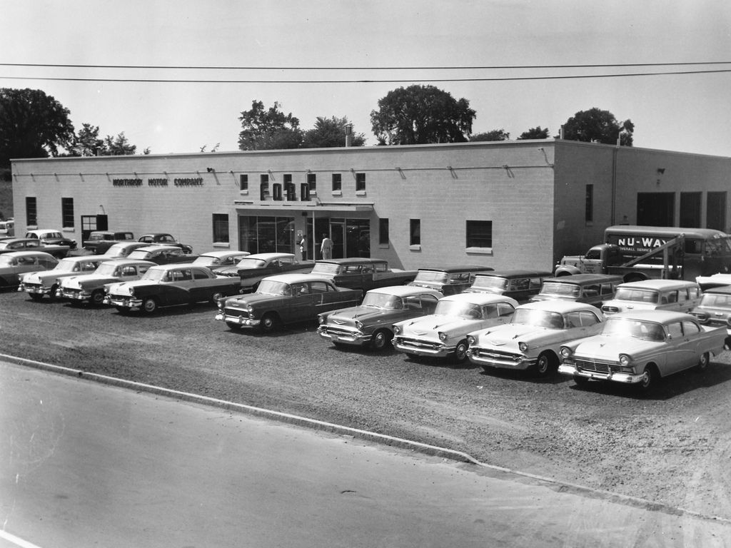Pin By Steven L Phillips On 1955 Chevrolet Watertown Street Scenes Used Car Lots