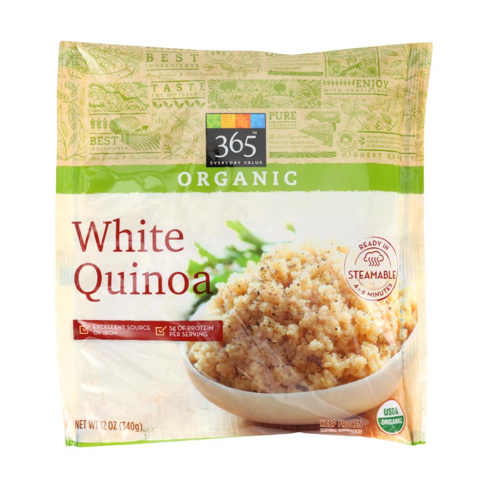 Organic White Quinoa 12 Oz 365 Everyday Value Whole Foods Market Whole Foods Products Whole Food Recipes Whole Foods Market