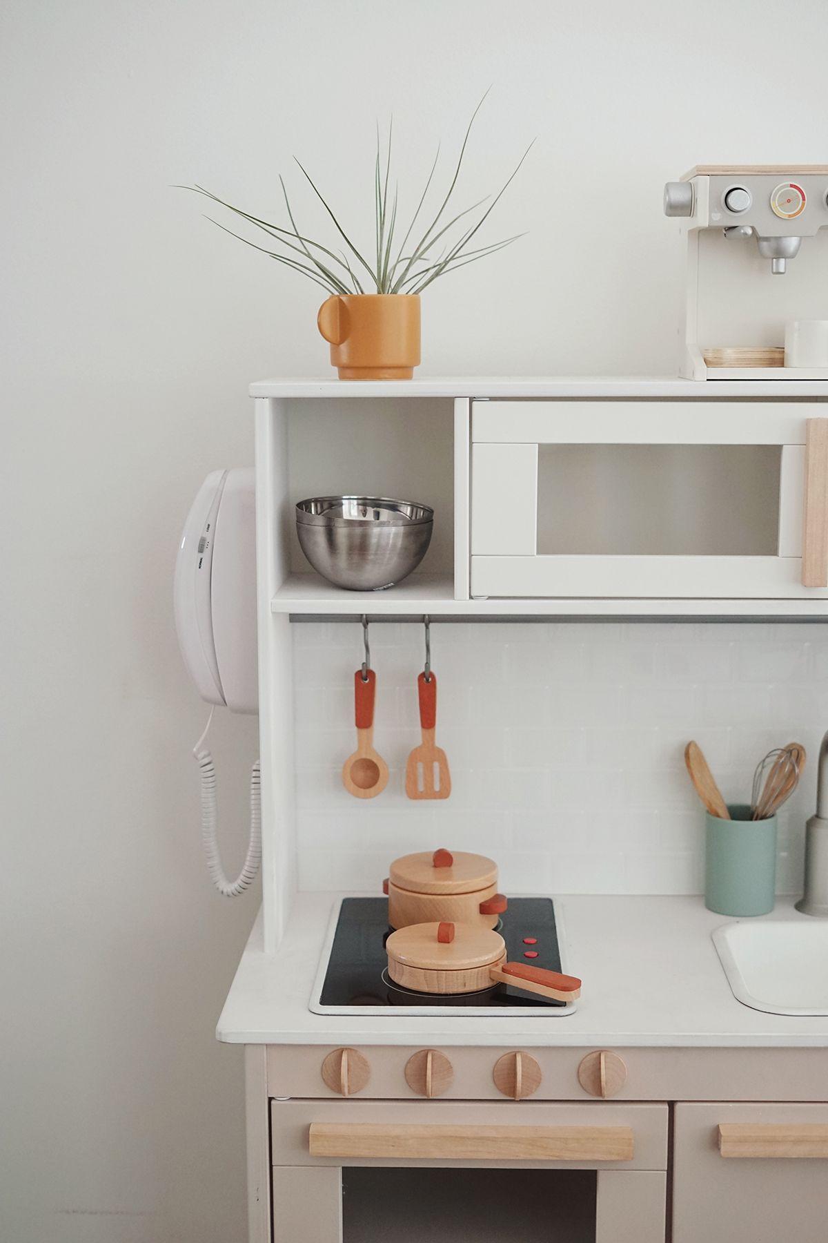 modern ikea play kitchen hack | + kiddie | Ikea play kitchen ...