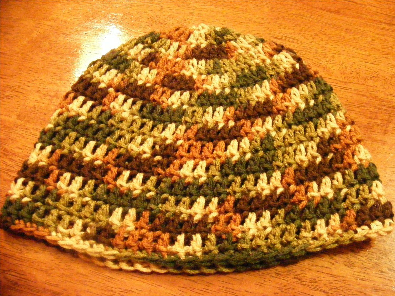 Crochet Head-hugger Cap, Crocheted Beanie, Zac Brown Beanie by ...