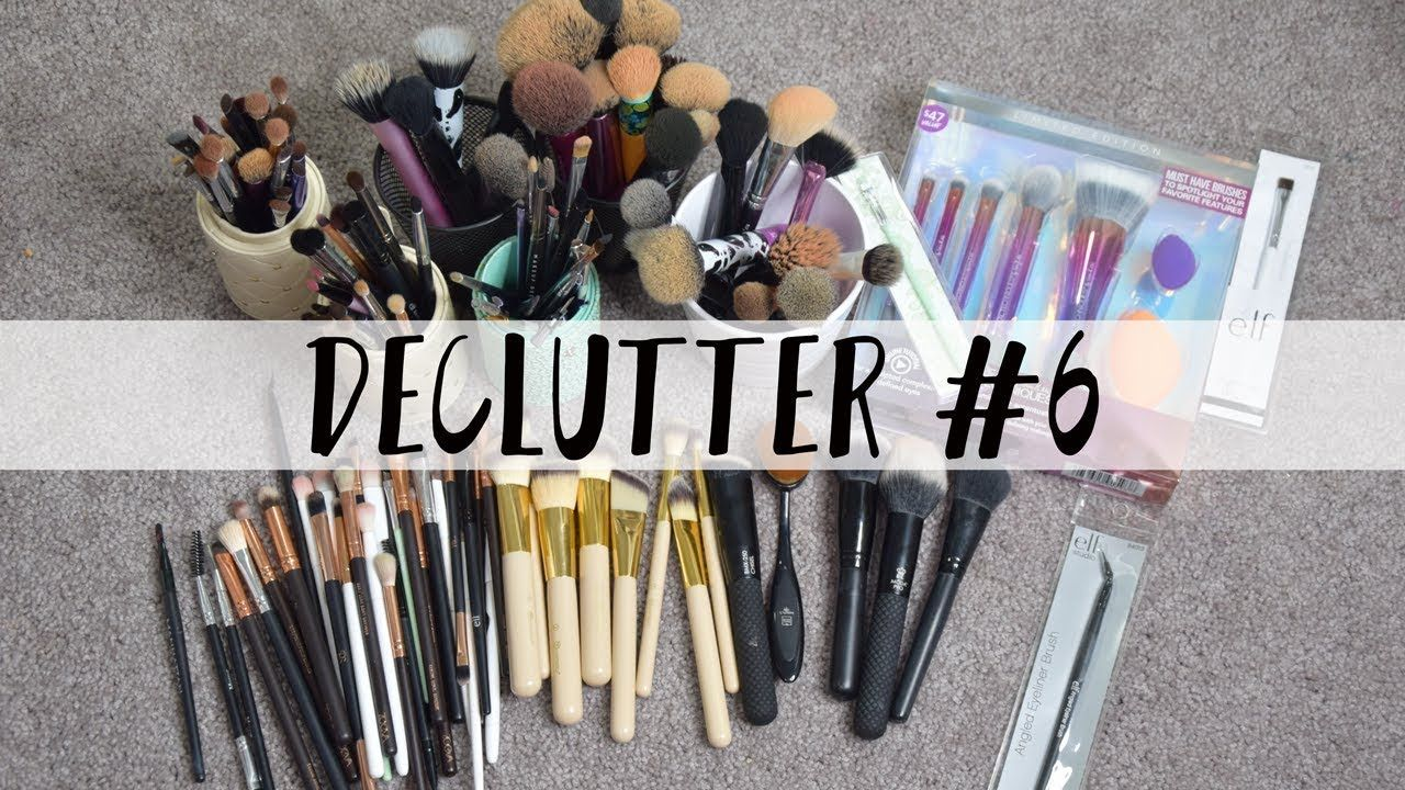 Makeup Declutter 6 Makeup brushes Makeup brushes