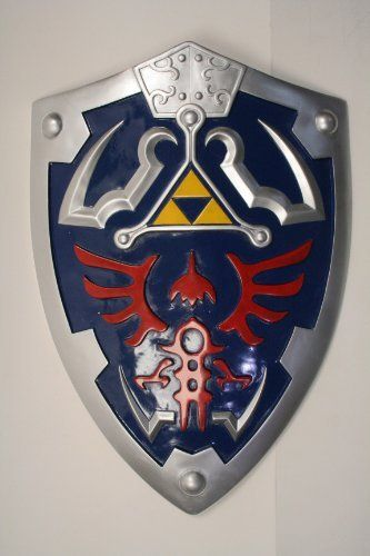 Legend of zelda Ocarina of time link/'s Hylian Shield with Grip /& handle cosplay