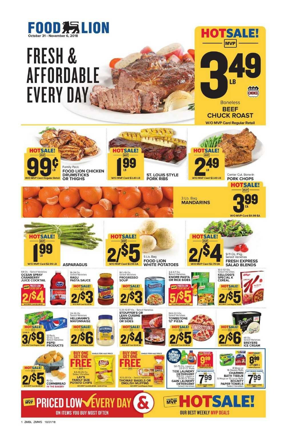 Food Lion Weekly Ad Flyer January 2 8 2019 Weekly Ad Circulars