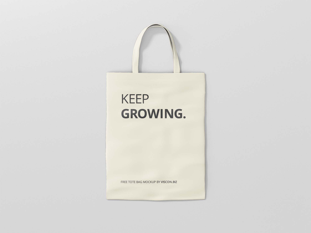 Download Free Tote Bag Mockup Psd