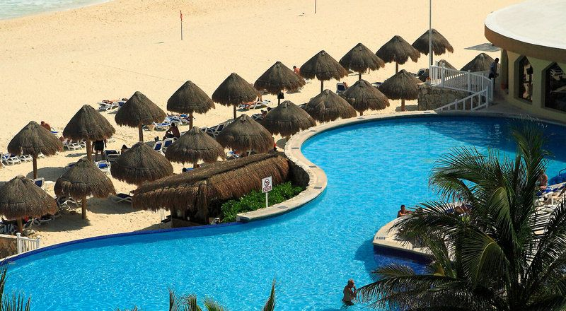 Beach view from Golden Parnassus Adult All-Inclusive - http://applev.ac/1OBh0Gc