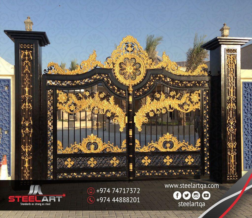 Doors Gates Steel Art Tel 974 74717372 Doors Gates Qatar Doha قطر Steel Art Gate Doors