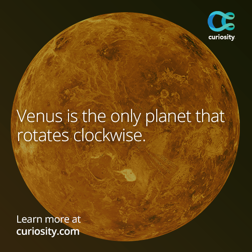 Venus, the second planet from the sun, is the second brightest object in the night sky after the moon: http://goo.gl/PhLTnA