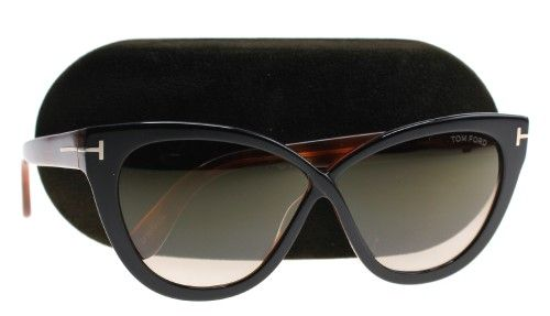 78a04bea40e0d Sunglasses Tom Ford Arabella TF 511 Arabella FT 0511 Arabella 05G black other    brown mirror