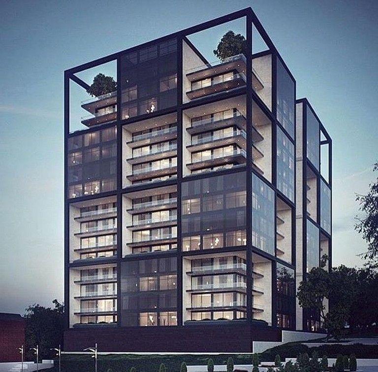 35 Amazing Apartment Building Facade Design Ideas Modern