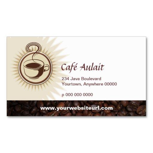 Coffee Bar Rewards Business Card Zazzle Com Coffee Shop Business Card Customer Loyalty Cards Loyalty Card Template