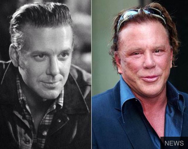 Mickey Rourke Befores \ Afters Pinterest Mickey rourke - qualit t nolte k chen