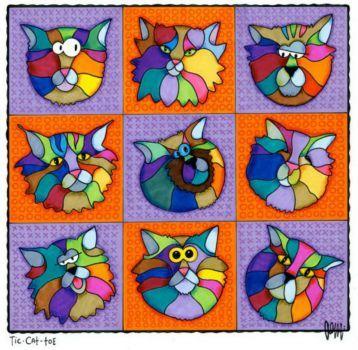 Tic Cat Toe (400 pieces)