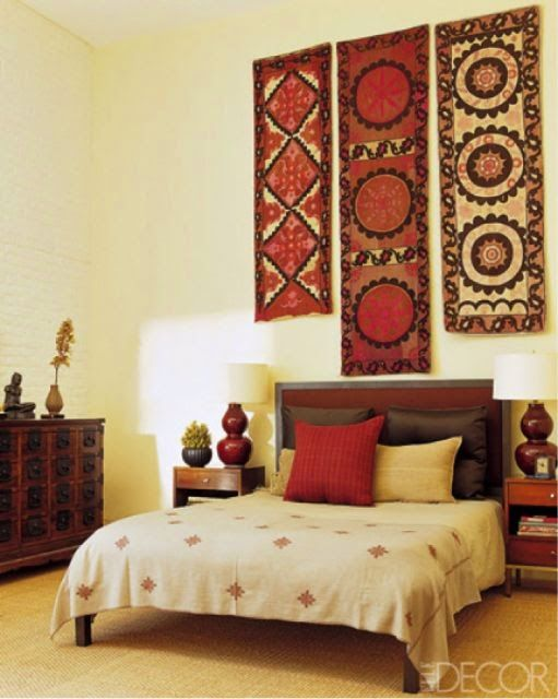 Indian home decor bedrooms pinterest interiors for Ethnic bedroom ideas