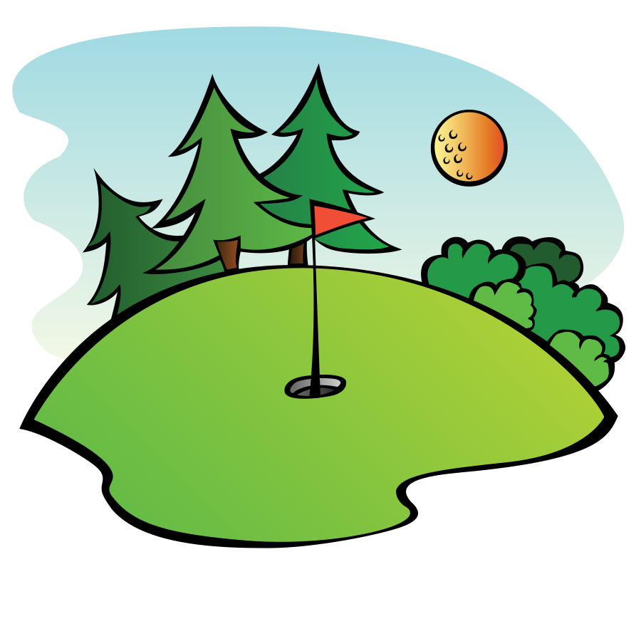 golf as billiards clipart  [ 900 x 900 Pixel ]