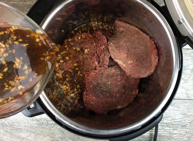 Instant Pot Cubed Steak Gravy Recipe Instant Pot Steak