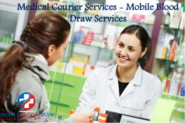 Medical Courier Services - Mobile Blood Draw Services