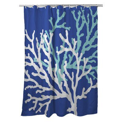 Rosecliff Heights Waterbury Nautical Single Shower Curtain Colour