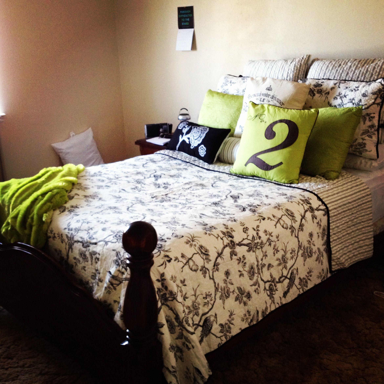 My beautiful bedding! :)