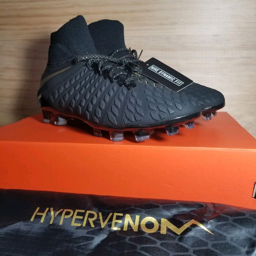 b4c1051f5af64 Nike Mens Hypervenom 3 Elite DF FG Soccer Cleats  AJ3803 090  Size ...