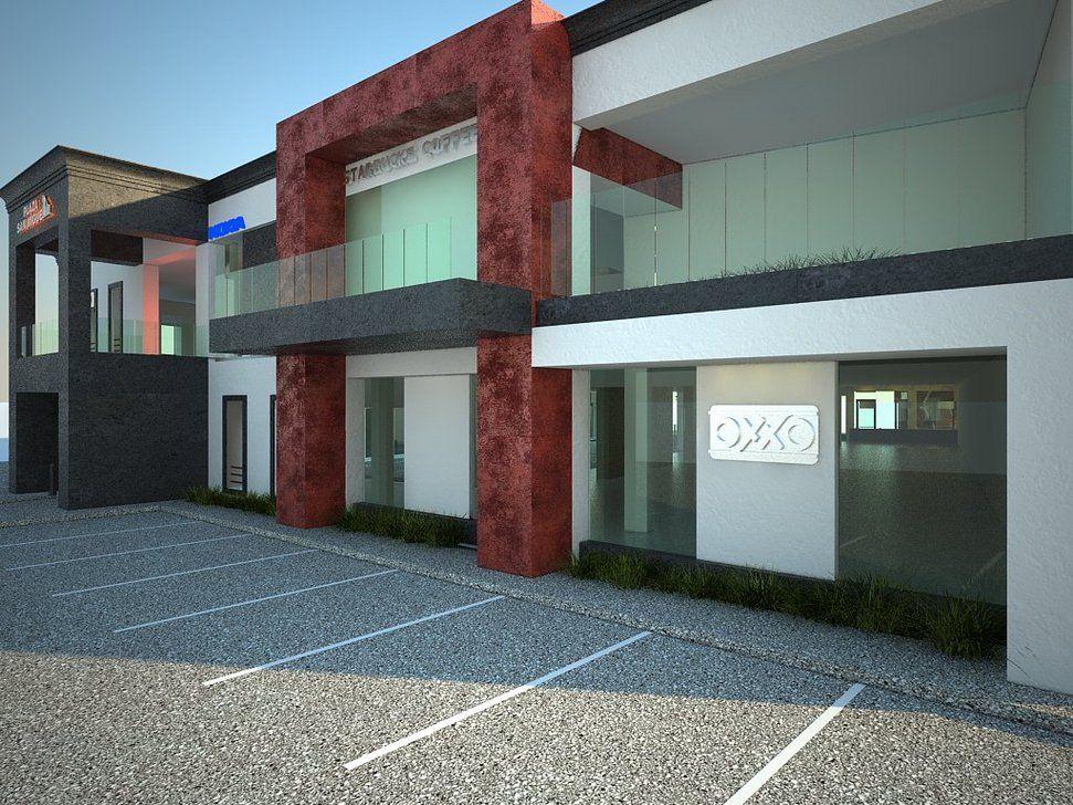 Imagenes de locales comerciales buscar con google - Materiales fachadas modernas ...