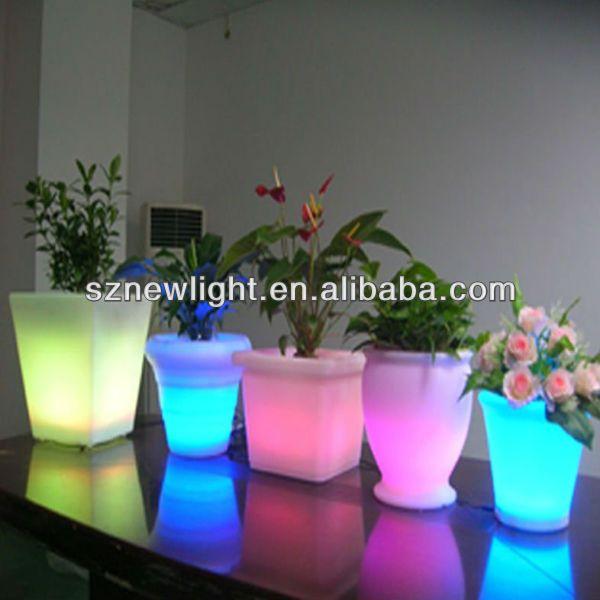 Light Up Planters Led Plastic Flower Pots Mini Led Pots Plants Led Planter Buy Light Up Planters Mini Led Pot Flower Pots Plastic Flower Pots Plastic Flowers