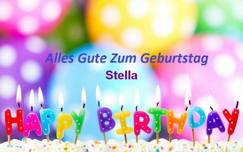 Alles Gute Zum Geburtstag Stella Bilder Bilder Und Sprüche Für