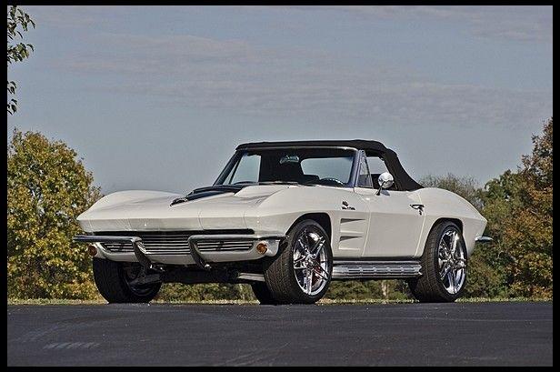 1963 Chevrolet Corvette Resto Mod LT4/400 HP, 6-Speed