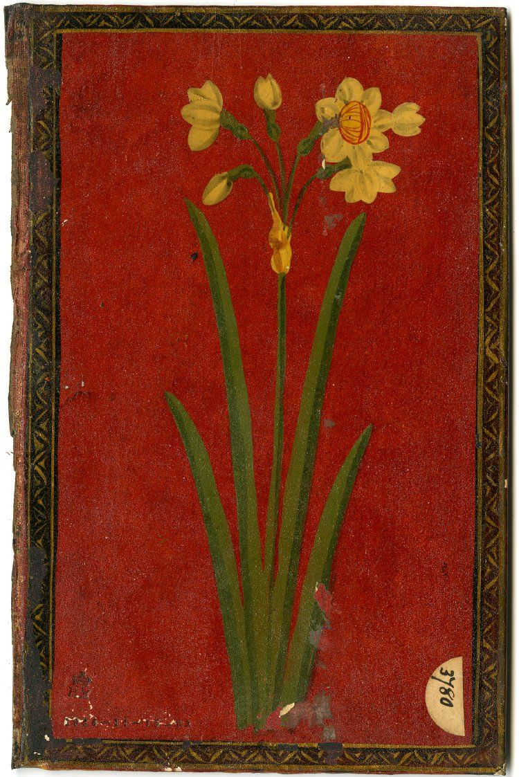 Paper Mache Book Cover : Beautiful antique books ≈ book cover flowers lacquered