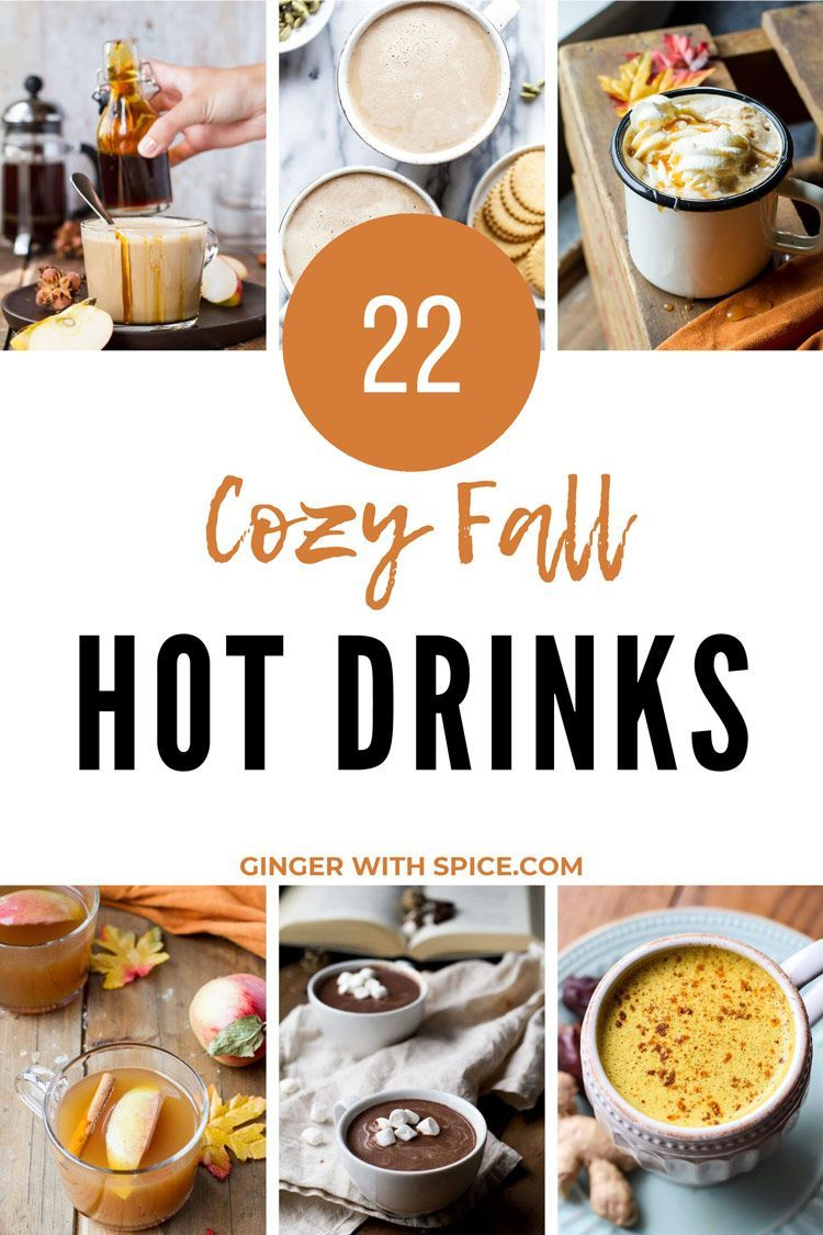 22 Hot Drinks to Keep You Warm this Fall #drinks
