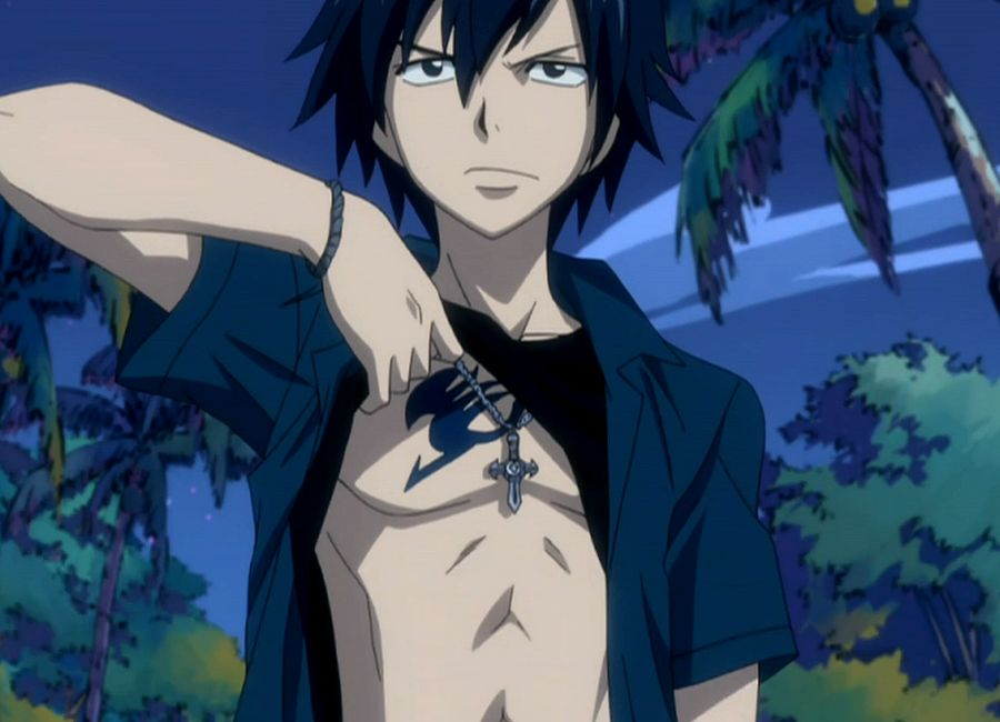 Fairy Tail Gray Fullbuster They So Place The Mark There For A