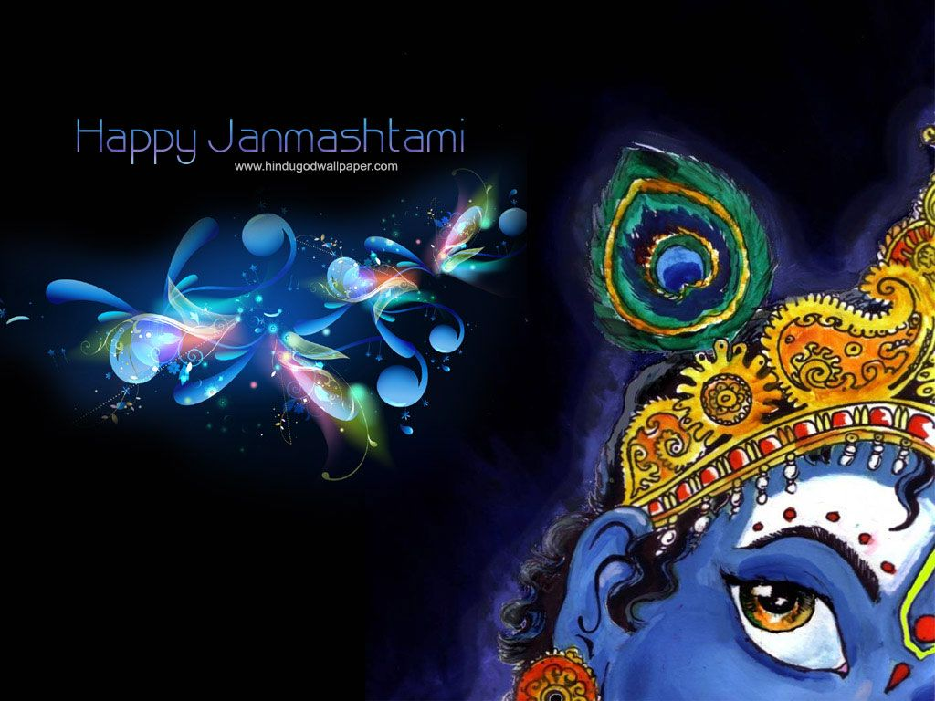 Sri krishna jayanti wallpaper - Free Download Krishna Janmashtami Wallpapers