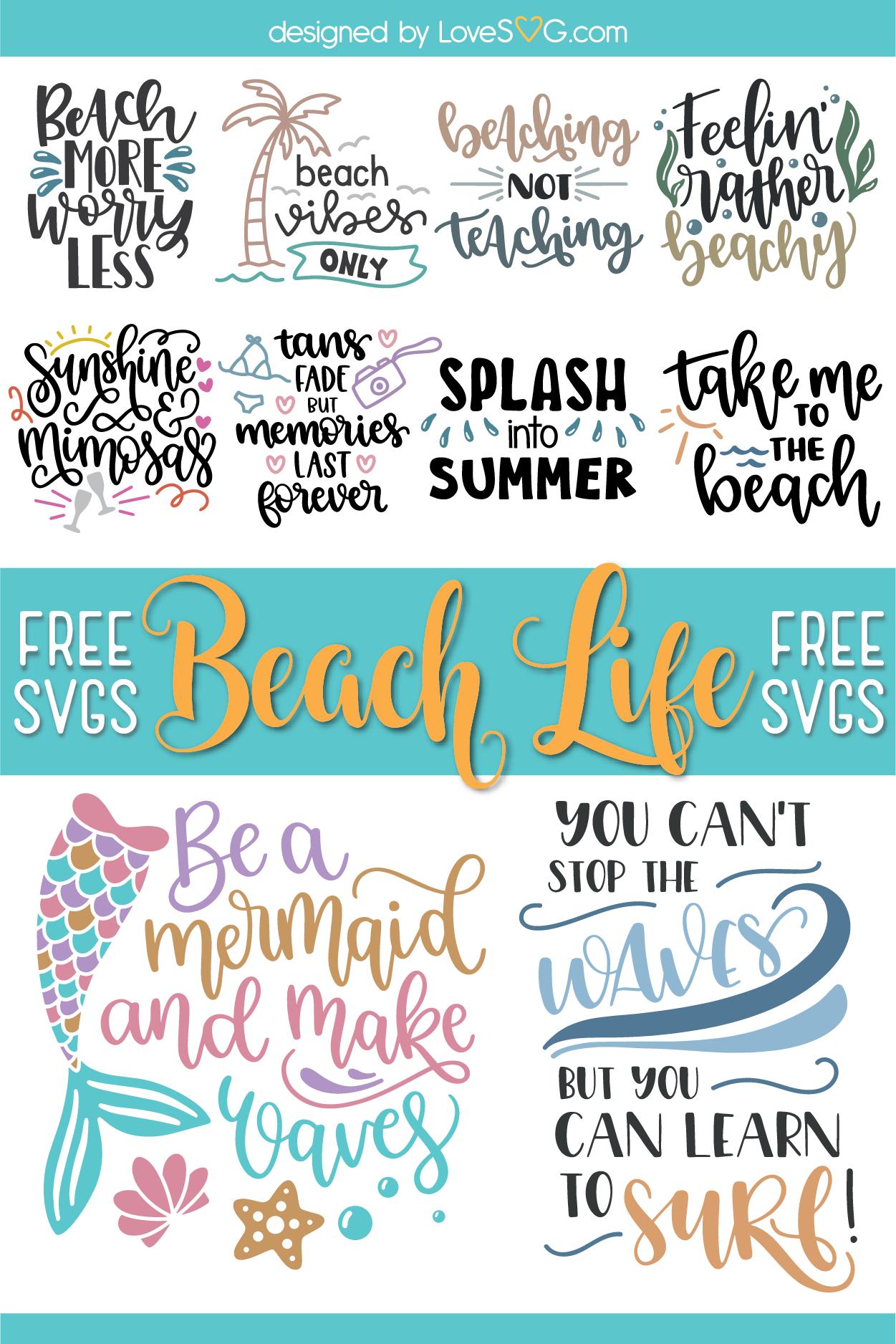 Download Pin on Free Summer SVG Cut File | LoveSVG.com