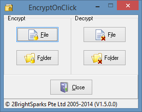 el encryptonclick